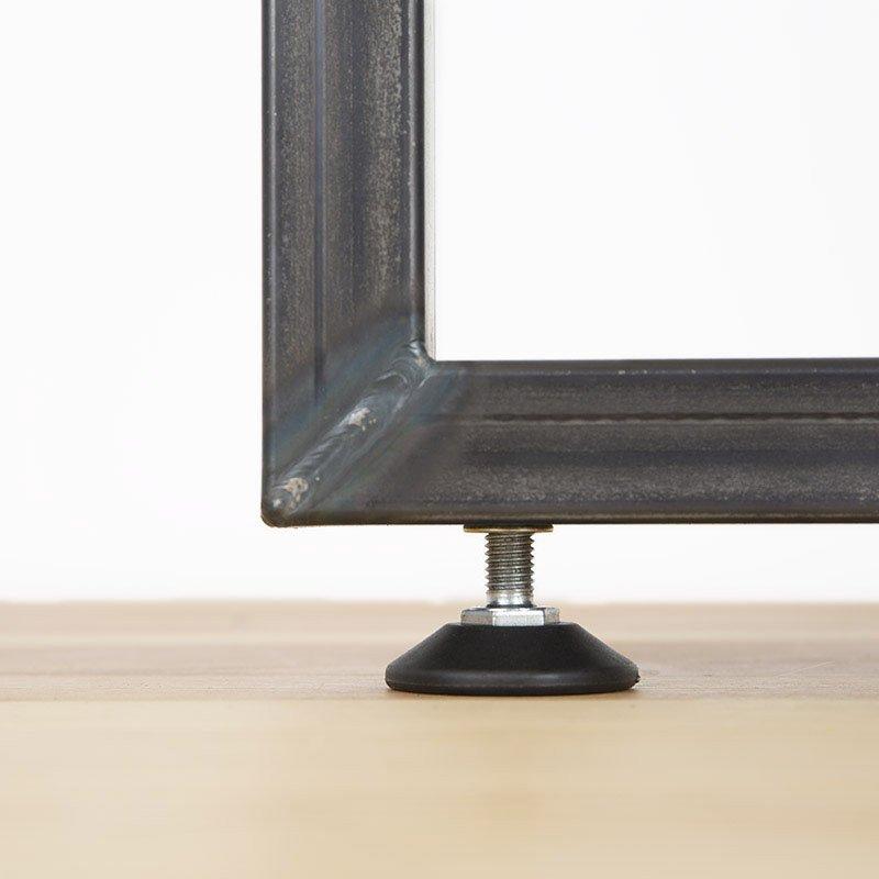 L Intrepide Raw Steel Leg