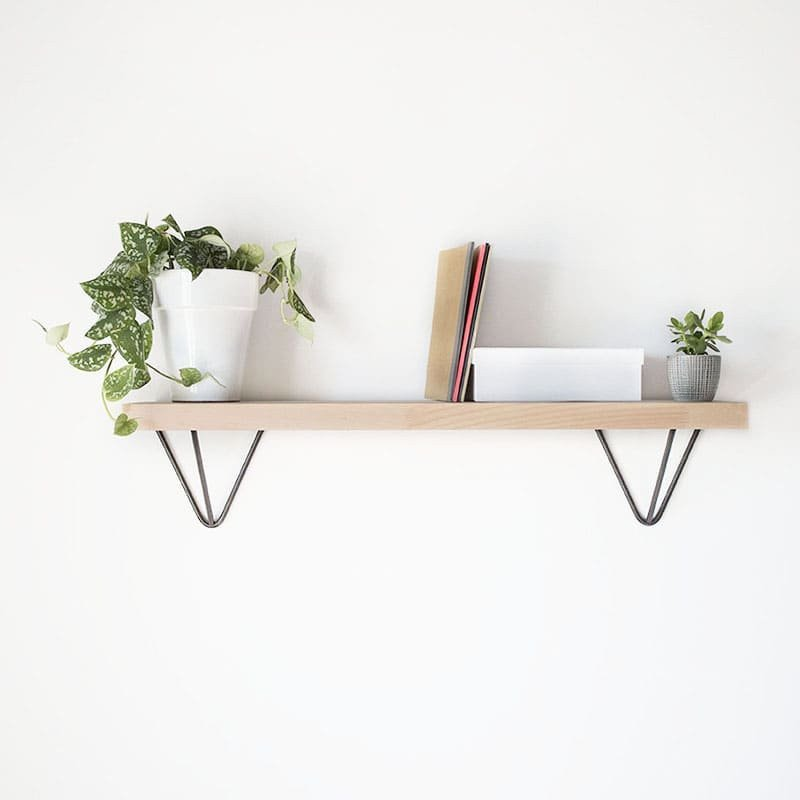 Le Fabuleux Hairpin Shelf Bracket