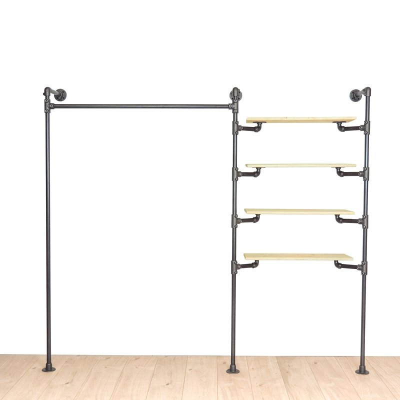 CLOTHES RACK - DARK STEEL - THE CLEVER